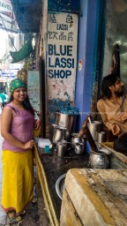 Blue Lassi- A divine drink in the Holy City